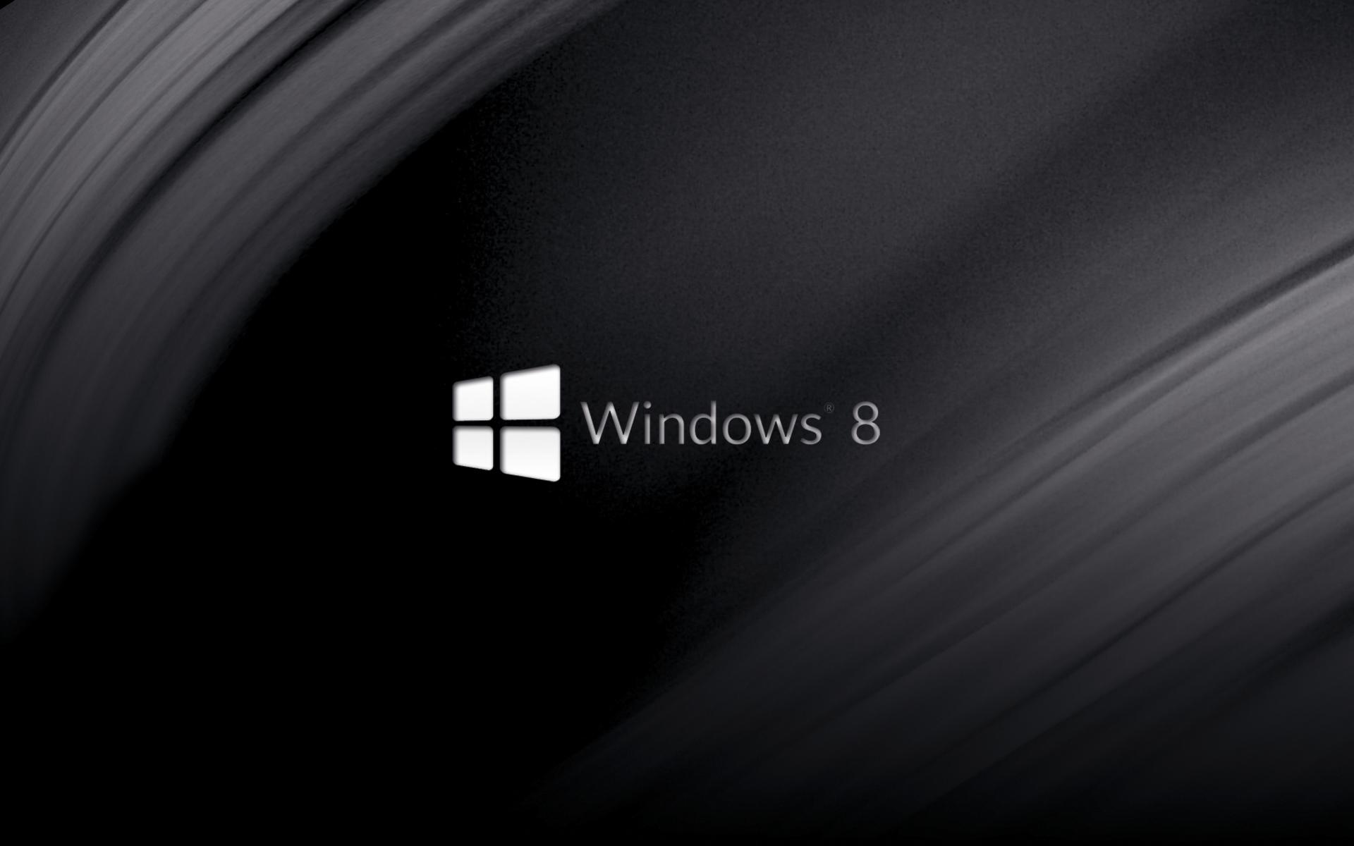 Black Windows 8