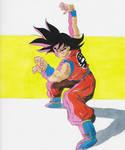 Goku Illustration