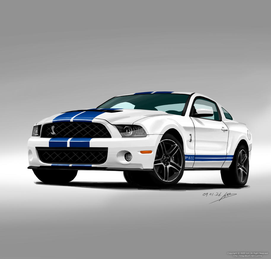 Buy ford mustang shelby gt500 image