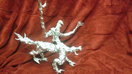 Nuckelavee - Aluminum Foil Sculpture by TheFoilGuy