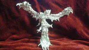 Yveltal - Aluminum Foil Sculpture