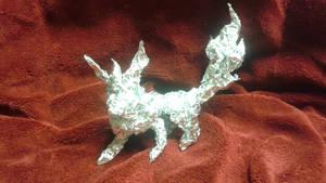 Flareon - Aluminum Foil Sculpture