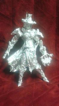 Inquisitor Greyfax - Aluminum Foil Sculpture
