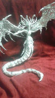 Queen Morathi - Aluminum Foil Sculpture by TheFoilGuy