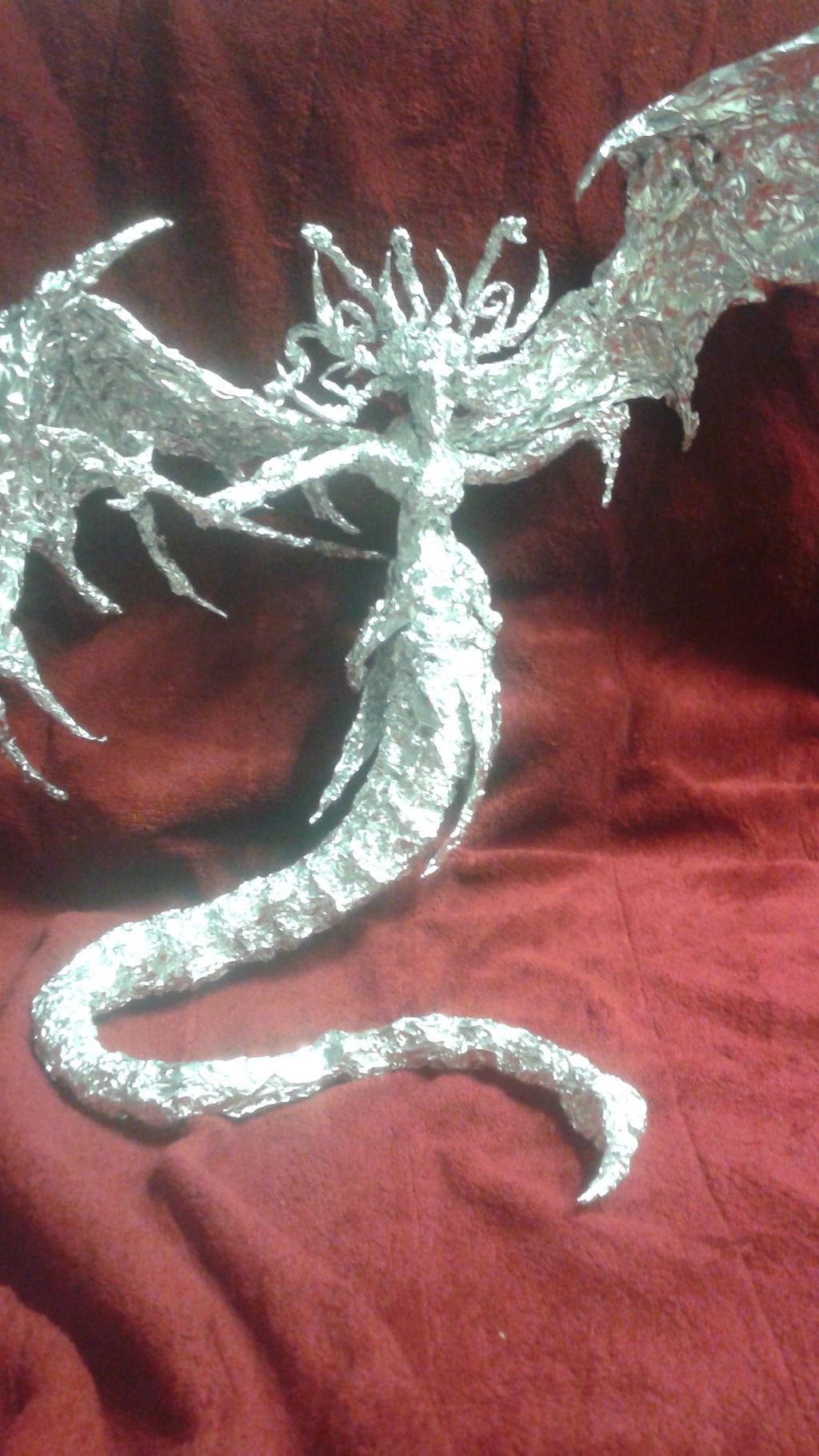Queen Morathi - Aluminum Foil Sculpture by TheFoilGuy