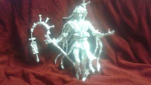 Onmyoji: Aoandon - Aluminum Foil Sculpture by TheFoilGuy