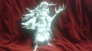 Onmyoji: Ibaraki Doji - Aluminum Foil Sculpture by TheFoilGuy
