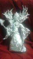 Onmyoji: Lord Arakawa - Aluminum Foil Sculpture by TheFoilGuy