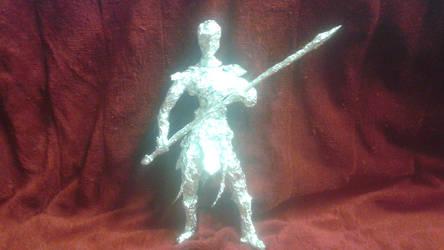 Okoye - Aluminum Foil Sculpture