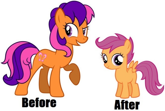 G3 Scootaloo And G4 Scootaloo By Hannah731 On Deviantart We got our cutie marks! g3 scootaloo and g4 scootaloo by