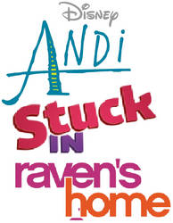 Andi Stuck In Raven's Home Logo by hannah731