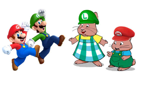 Mario And Luigi Meets Louise And Morris