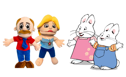 Marvin And Rose Meets Max And Ruby