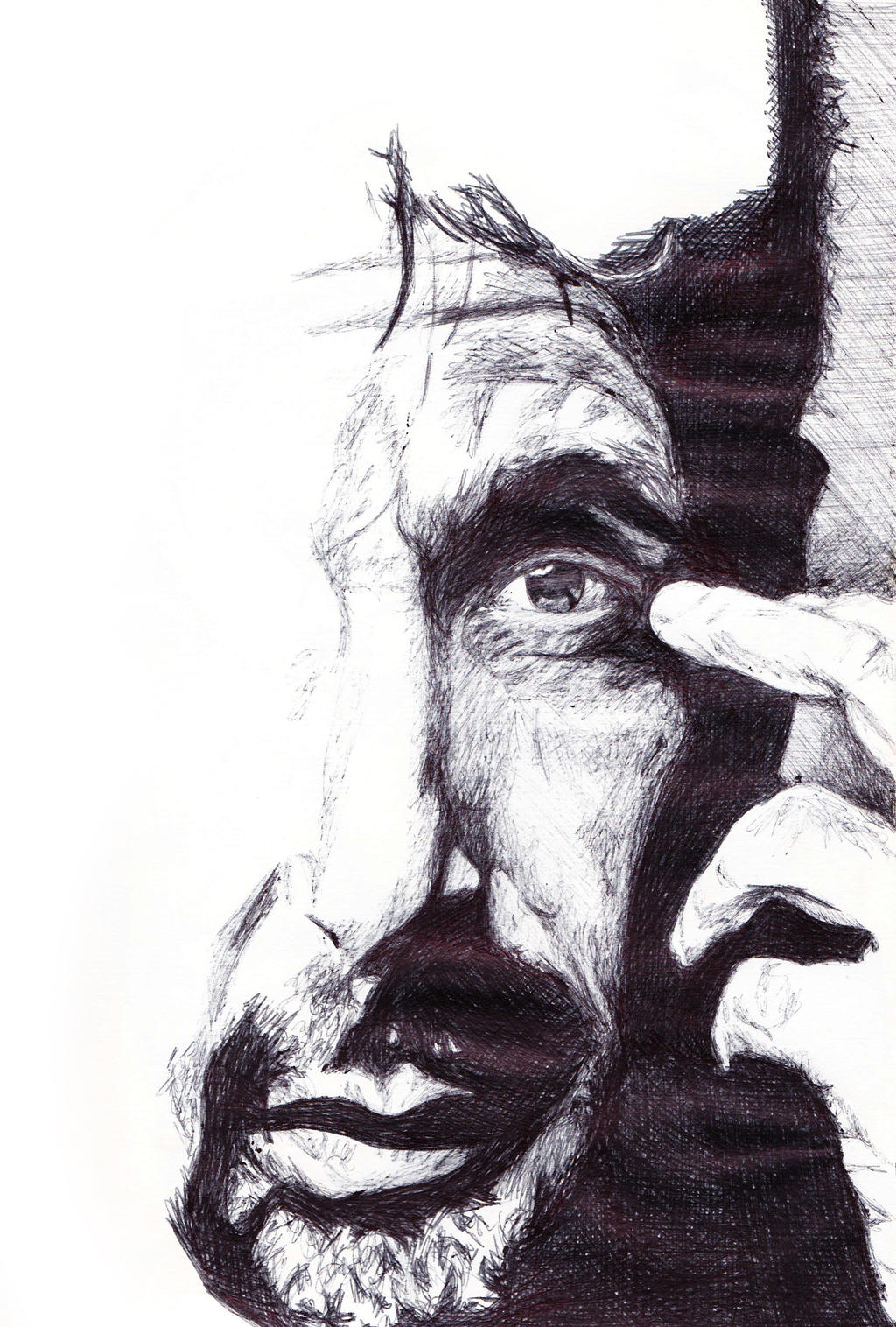 al pacino pen drawing by demoose21 on deviantart