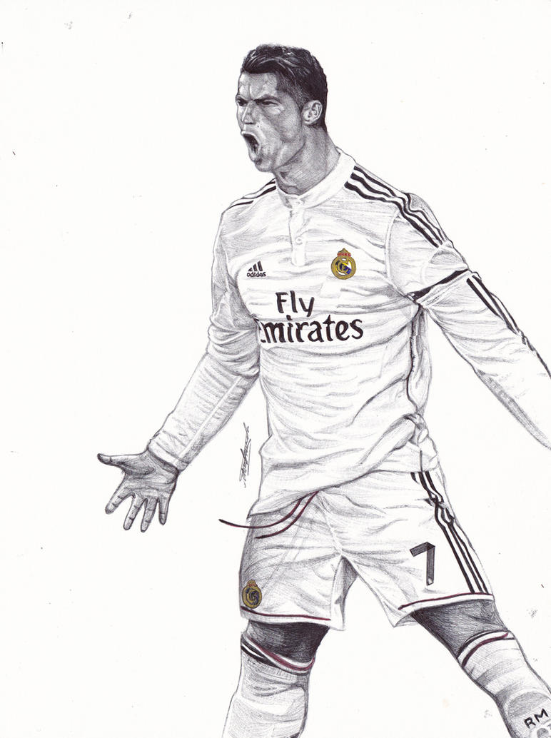 Drawings of ronaldo video search engine at - Dessin cristiano ronaldo ...
