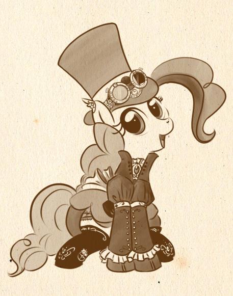 Steampony6- Pinkie Pie by bunnimation