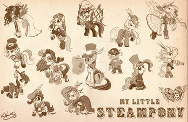 Steampony Poster