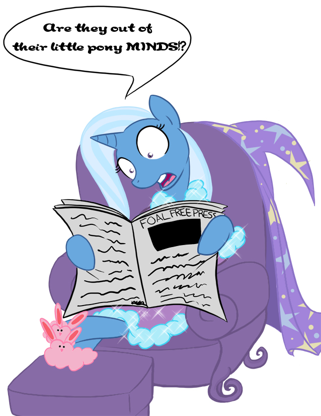 Trixie's secrets revealed by bunnimation