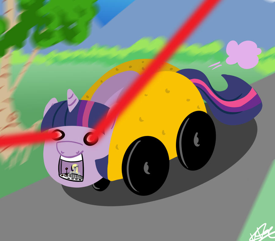 Twilight Taco Mobile by bunnimation