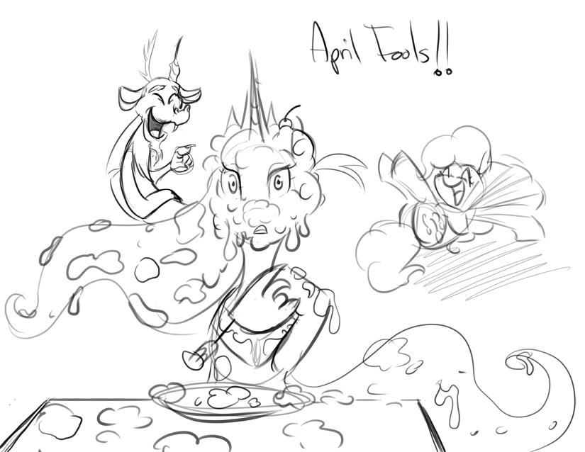 April Fools! by bunnimation