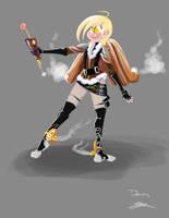 Steampunk Human Derpy