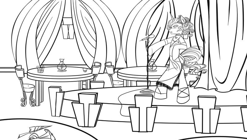 Luna Lounge Singer by bunnimation