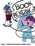 Book bending!