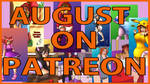 Patreon monthly summary Aug 2020 by AlyssaSundale