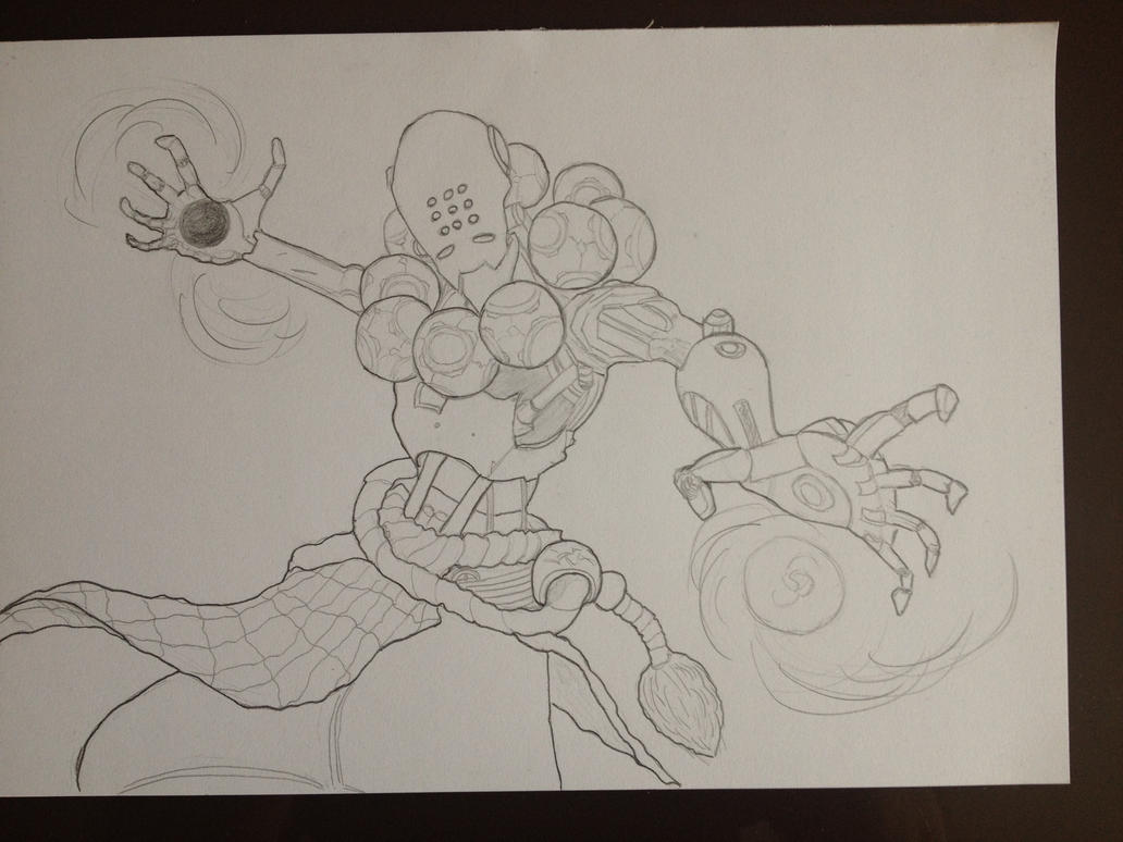 Overwatch - Zenyatta Fan Art by Razrius
