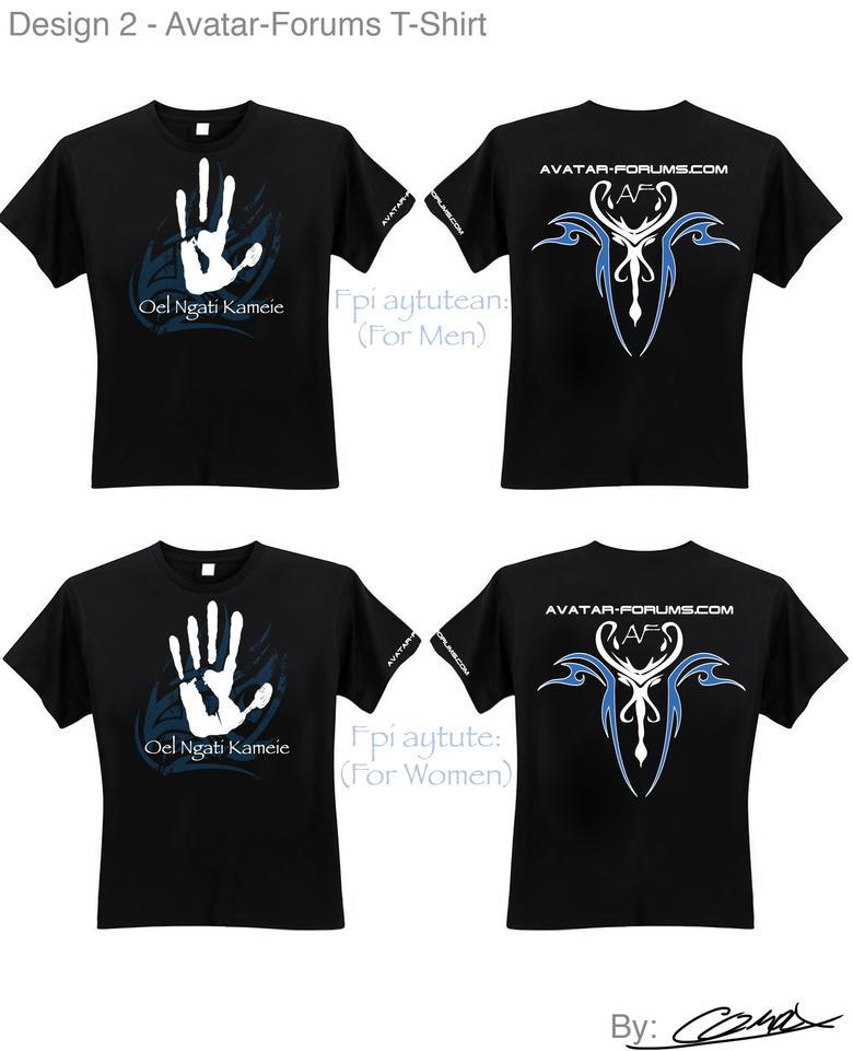 Avatar Forums T Shirt Design 2 By Complxdesign On Deviantart
