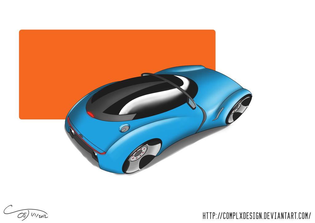 Future Car Concept by ComplxDesign
