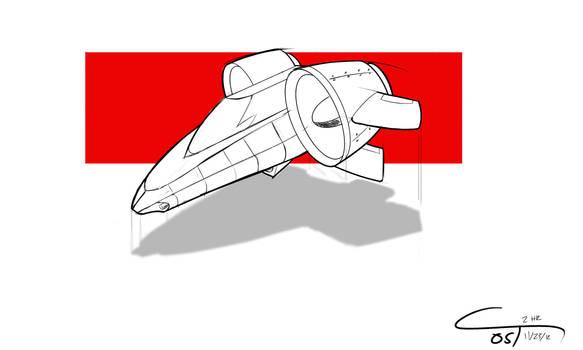 D22 - Concept Ground Speeder
