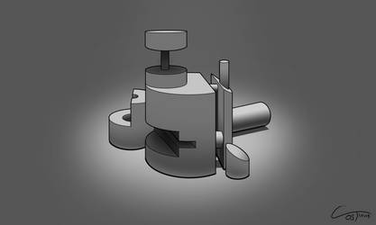 D35 - Perspective Cylinders Rendered