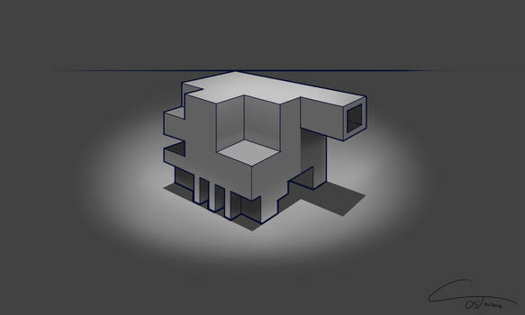 D34 - Perspective Box Rendered