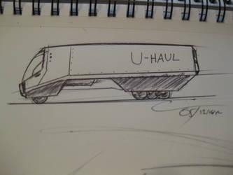 D31MU - U-Haul Truck