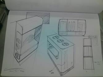 Quick Sketches 7-16-13