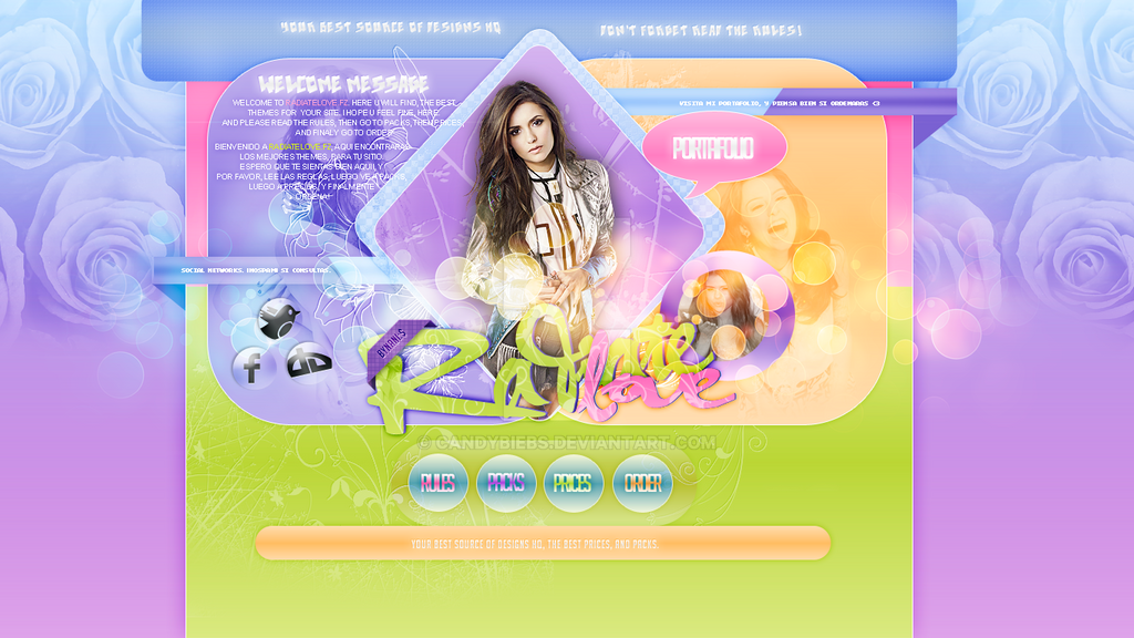 Header deluxe .psd by CandyBiebs