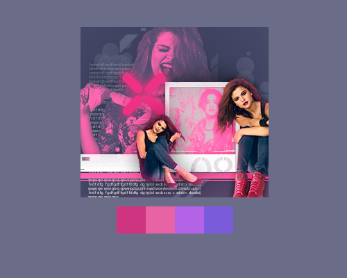 Pallete Pink by CandyBiebs