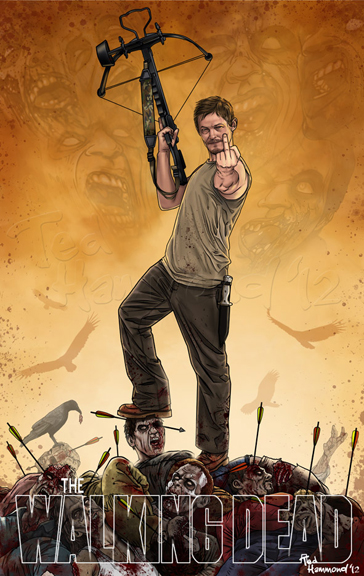 Daryl Dixon...Super badass! by ted1air