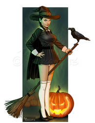Lil' Witch by ted1air