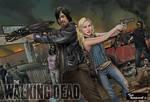 Daryl and Beth-Walking Dead