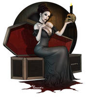 Vampire Queen by ted1air
