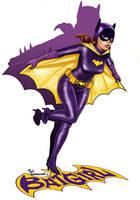 Bat Girl by ted1air