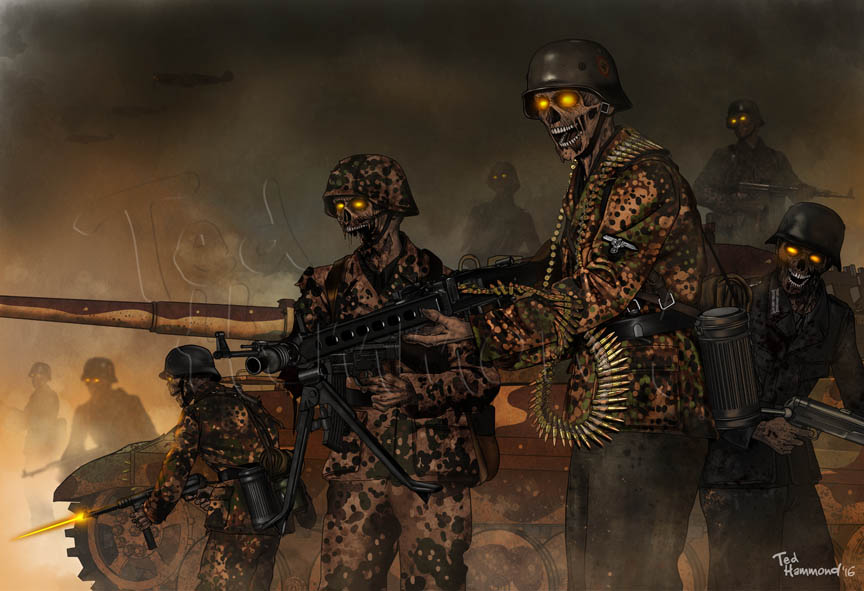 Army of the Dead by ted1air