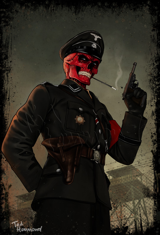 The Red Skull by ted1air