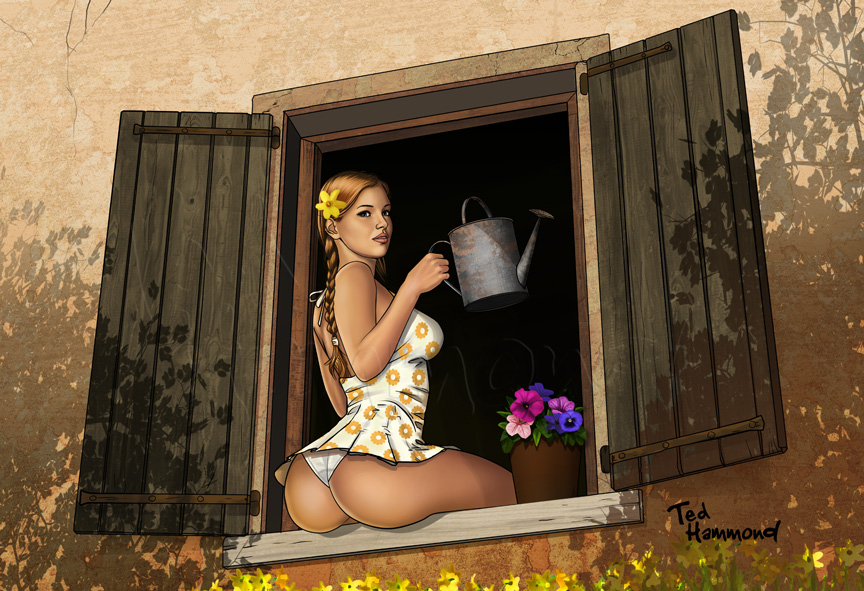 Farmer's Daughter by ted1air