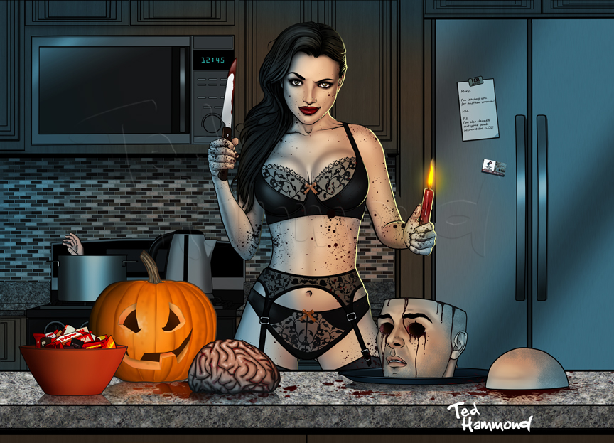 Halloween by ted1air