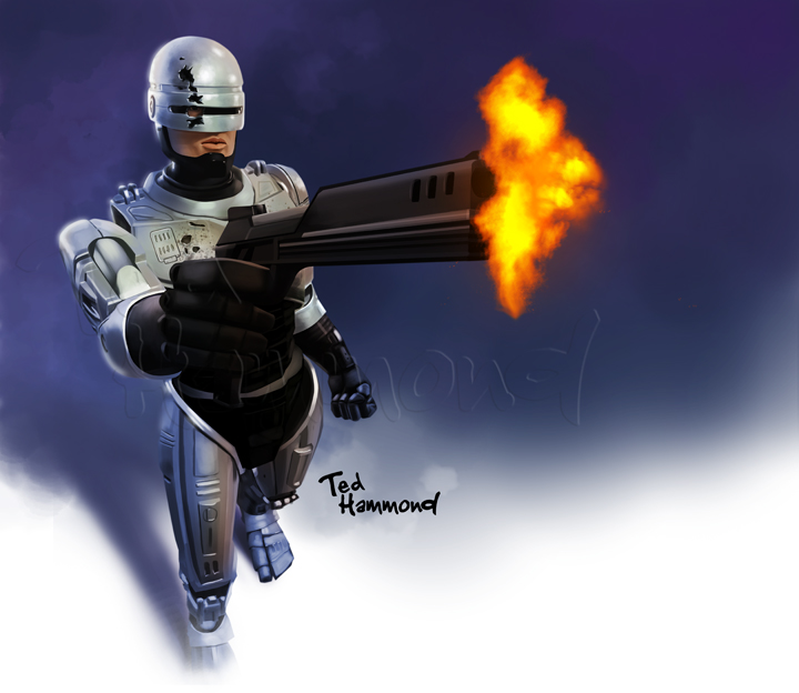 Robocop by ted1air
