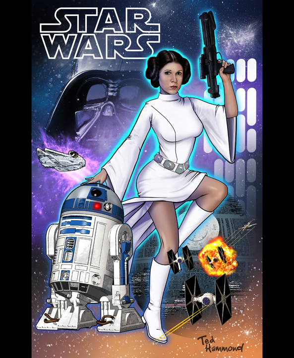 Leia by ted1air