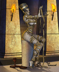 Mummy by ted1air
